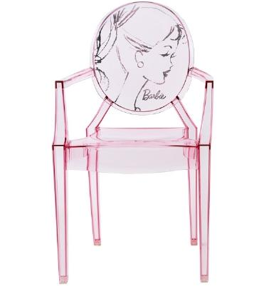 Acrylic take a seat for Chaise ghost kartell