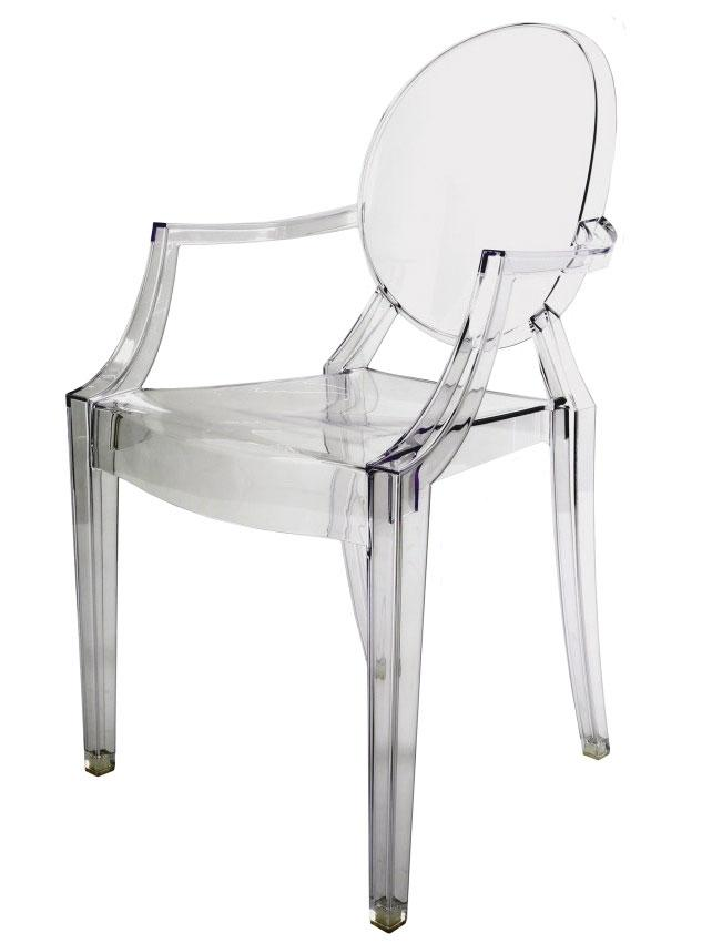 Clear transparent ghost chairs - Chaise starck transparente ...