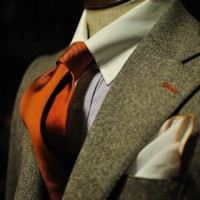 Tie with texture