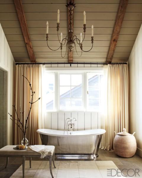 Soaking tubs for Elle decor bathroom ideas
