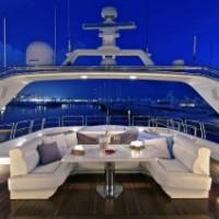 yacht cockpit