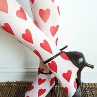 valentine's heart tights