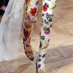 leggy floral tights
