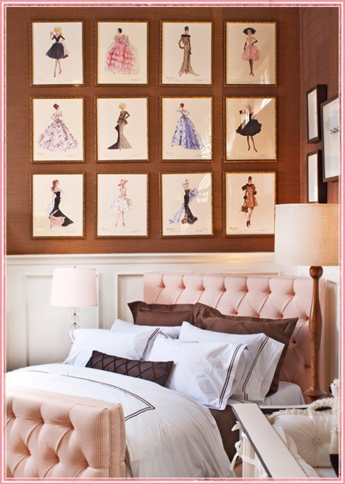 I Have Always Loved Fashion Art For A Bedroom ...