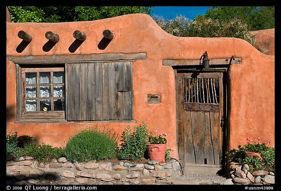 Intended influences adobe style for Southwest homes