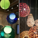 Dwell on Design - Colorful suspended ligths