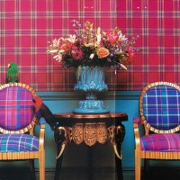 Merged madras chairs