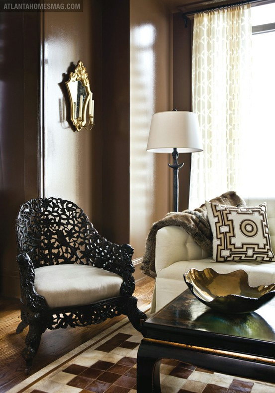 Beautiful Chair In Living Room