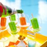 Popsicle cocktails