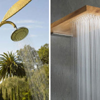 Luxe Shower... Outdoors