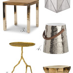 The Metal Side Table