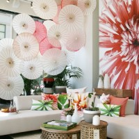 Colorful Parasol Styling